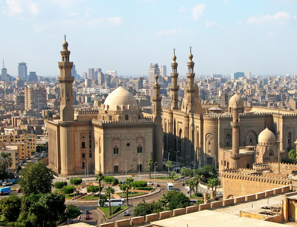 Grande mosquée du Caire