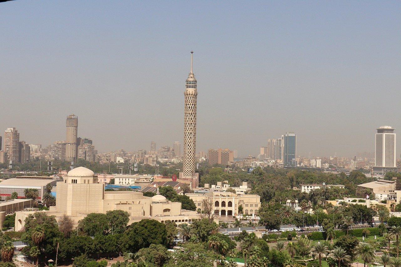 Les principales villes d'Egypte